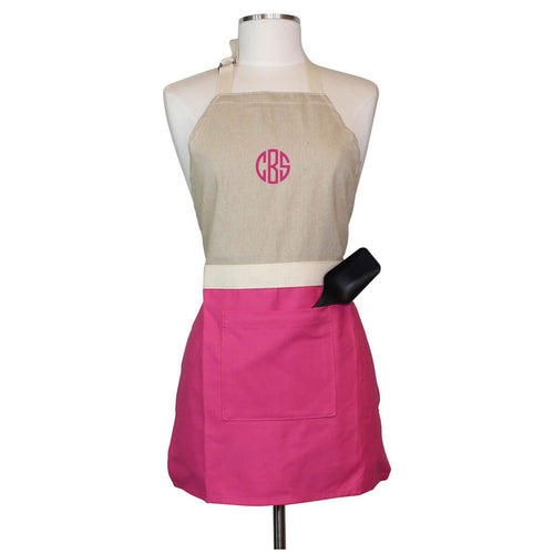 Lifestyle Childrens Apron Choose Color Hot Pink