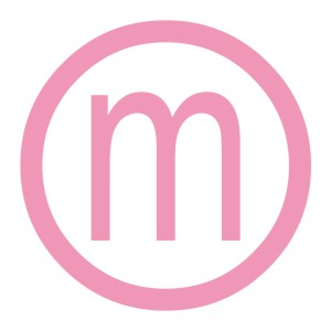 Monogramed Decal- Initial with Circle Accent