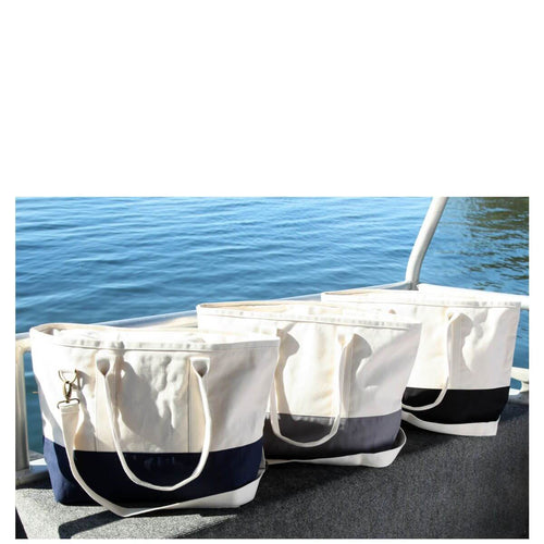 Color block Utility Tote Choose Color
