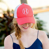 Lifestyle Trucker Hat Coral