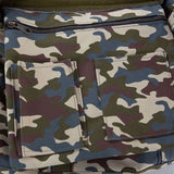 All Camo Medium Boat Totes Dark Camo Organizer Pocket