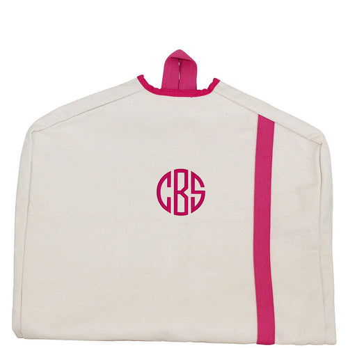 Garment Bag Natural Choose Color Natural and Hot Pink
