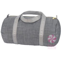 Baby Duffel Choose Style Grey Chambray