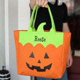 Personalized Character Totes Johnny the Jack O Lantern