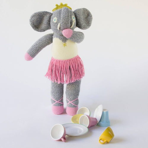 Josephine the Elephant Mini Doll Lifestyle Image