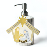 Neutral Nativity Attachment on Soap Pump