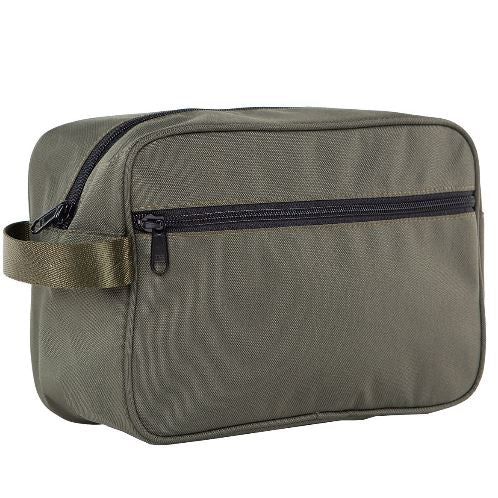 Motion Travel Kit in Three Colors Olive Side View