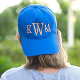 Royal Blue Personalized Cap