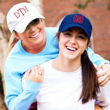 Personalized Cap White and Navy