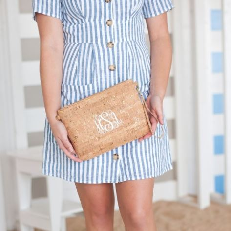 Hayley Cork Personalized Purse