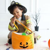 Lifestyle Personalized Plush Halloween Bucket Pumpkin