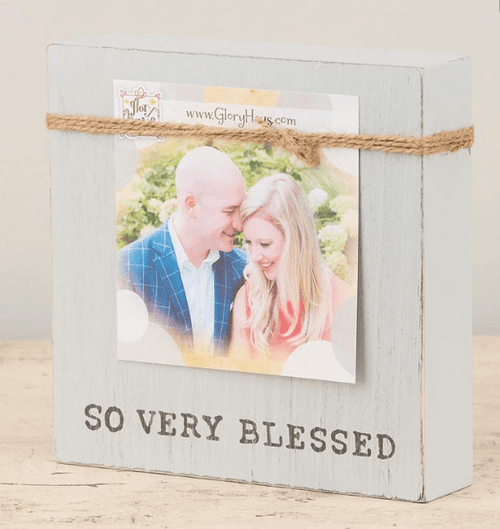 So Very Blessed Twine Frame