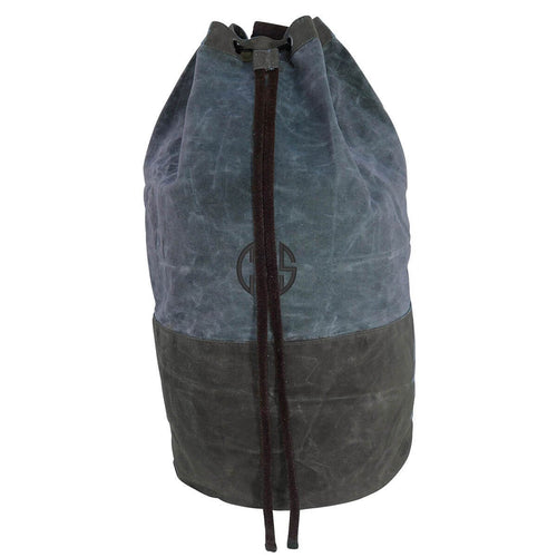 Waxed Canvas Laundry Duffel Choose Color Slate