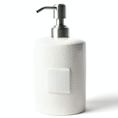 White Small Dot Mini Soap Pump
