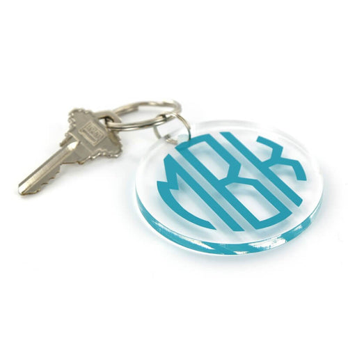 Acrylic Key Ring with Vinyl