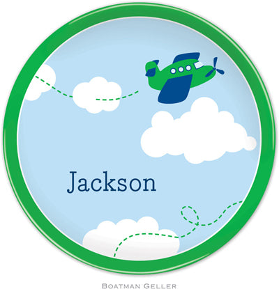 Set of 2 Personalized Plate Airplane