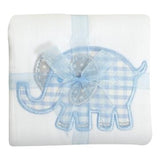 Personalized Baby Boy Appliqued Burp Cloth - Choose Icon