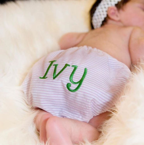 Personalized Baby Bloomer Fancy Panties