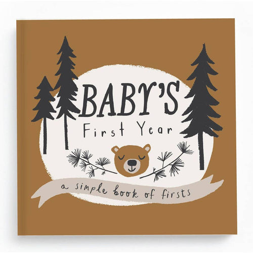 Baby First Year Memory Book -Little Camper