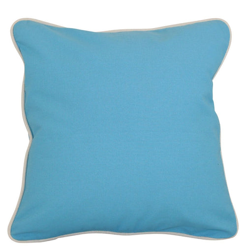 Canvas Pillow Cover 12 x 12 Choose Color Baby Blue