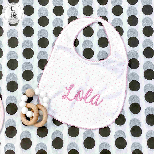 Personalized Bib and Teether Baby Gift Set