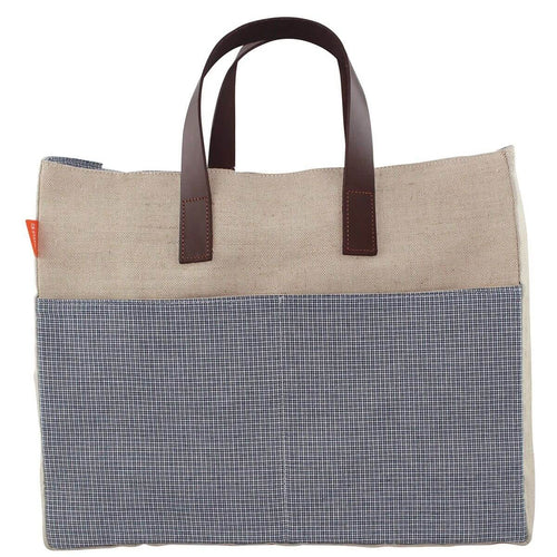 Jute Book Tote Choose Color Jute Pattern
