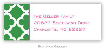 Bristol Tile Pine Personalized Address Label