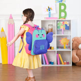 Butterfly Preschool Backpack with monogram