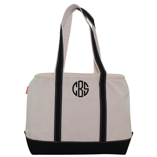 Large Lunch Tote Cooler Choose Color Black