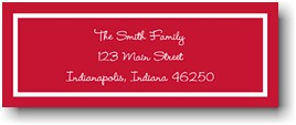 Classic Cherry Personalized Address Label