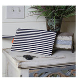 Lifestyle Clutch Stripes Choose Color Navy Stripes