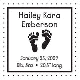 Self Inking Personalized Stamp CS-3284
