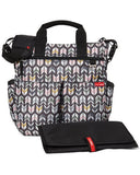 Arrows Duo Signature Personalized Diaper Bag with 1 Free Burp Cloth