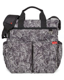 Black Swirl Duo Signature Diaper Bags