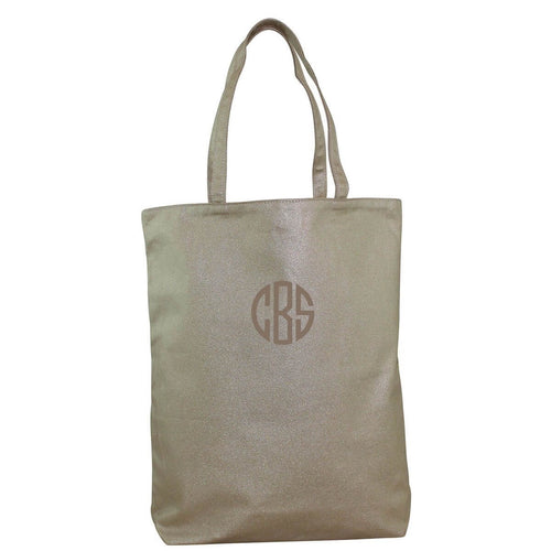 Monogram Effortless Tote Metallics Gold