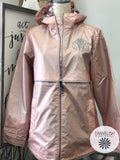Monogrammed Rain Jacket New England Style Lots Of Colors