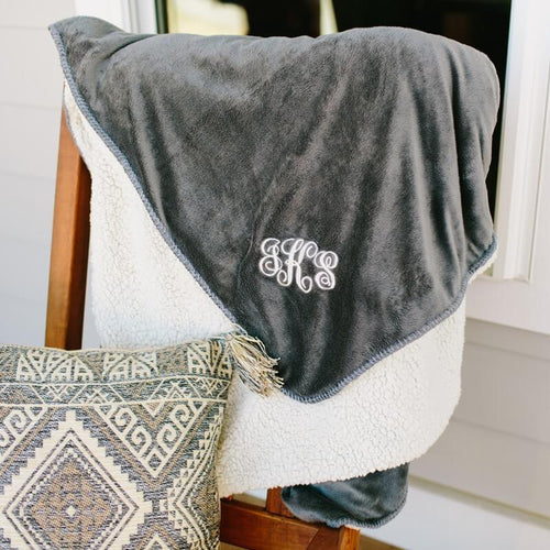 Fleece and Sherpa Blanket