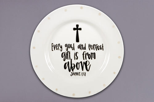 Good and Perfect Gift Plate