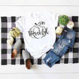 Graphic Tee Shirt Thankful