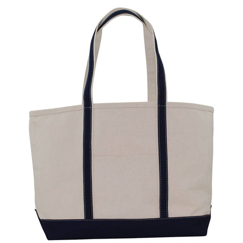 Heavy 24 oz Large Boat Tote Choose Color Navy