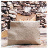 Lifestyle Jute Cosmetic Bag