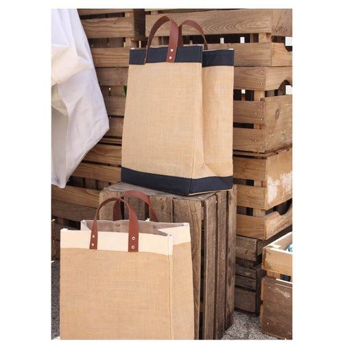Jute Personalized Market Bag-Choose Color