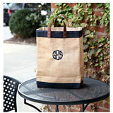 Lifestyle Jute Market Bag Navy