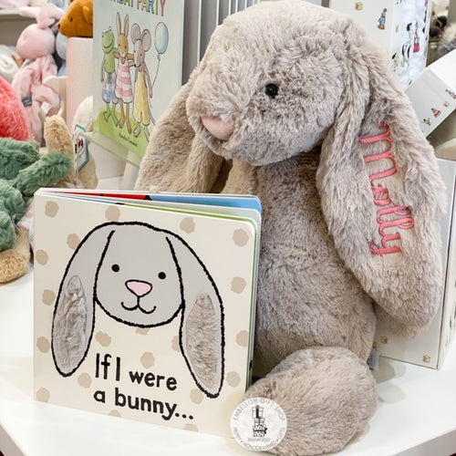 Large Bunny and Book Gift Set
