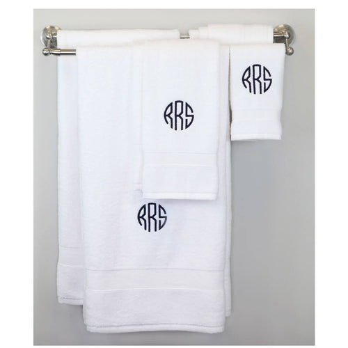 Luxury 8 Piece Cotton Towel Set Choose Color