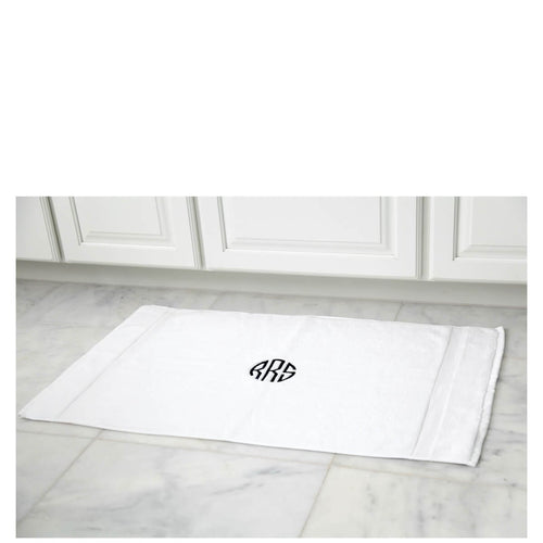 Luxury Cotton Bath Mat Set of 2 Choose Color