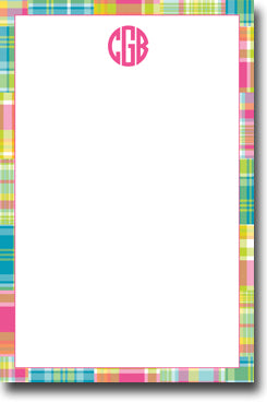 Madras Patch Bright notepad