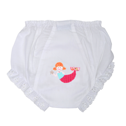 Personalized Merry Mermaid Bloomers 3/6 Months