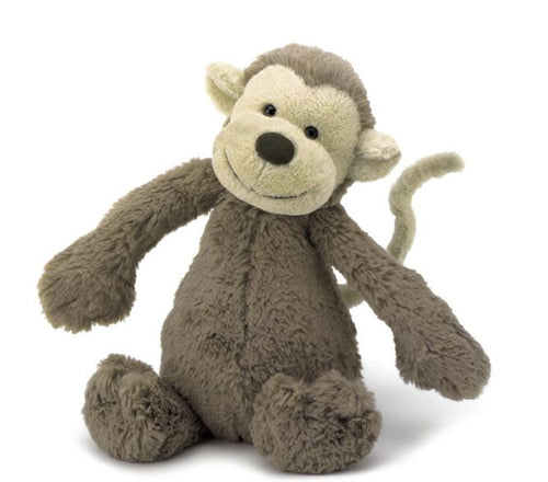 Bashful Monkey Stuffed Animal Toy