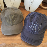 Monogrammed Baseball Hat - Assorted Colors